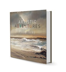 Artistic Adventures (Open) by Philip Gray - Book sized 11x11 inches. Available from Whitewall Galleries